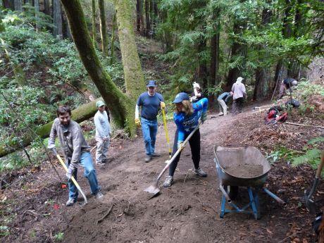 Trail Work Photos by KarenKefauver - 049